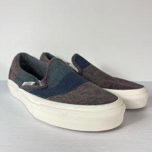 Vans Classic Slip-On Wool Stripes Sneakers